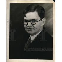 "1928 Press Photo Andrew Hertel, ""BCJ"" at Milwaukee Journal"
