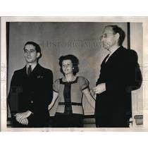 1939 Press Photo German spies Erich Glaser, Johanna Hoffman, Otto Hermann Voss