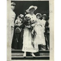 1918 Press Photo Margaret Wilson, First Daughter of President Woodrow Speaking