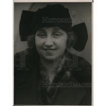 1923 Press Photo Miss Edwina Barry, American Actress