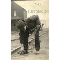 1921 Press Photo J. F. Stevens, Detroit, Michigan