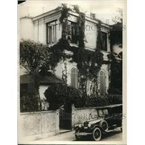 1926 Press Photo The Brice Villa, Rome, Italy
