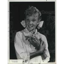 1964 Press Photo Hayley Mills American Actress Pollyanna Family Drama Movie Film