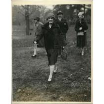 1927 Press Photo Womens Suffrage Leader Vira Boarman Whitehouse, United Hunts