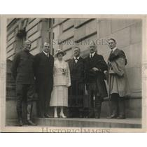 1920 Press Photo Margaret Wilson Daughter President Woodrow Dedicates Building