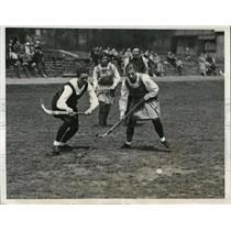 1933 Press Photo Women's field hockey Philadelphia teams - nes20880
