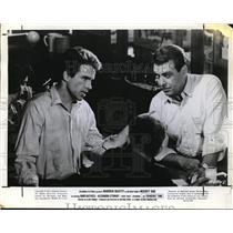 1965 Press Photo Warren Beatty in Mickey One