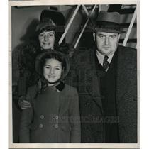 1938 Press Photo Mr. And Mrs. Ernst Gellichshemimer Arrive In New York