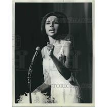 1964 Press Photo Diahann Carroll TV Stage Actress Singer Hollywood Palace