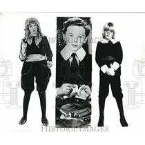 "Press Photo ""Little Lord Fauntleroys"" M. Pickford, F. Bartholomew & R. Schroder"