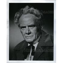 """1964 Press Photo Charles Bickford in """"The Virginian"""" - orp04263"""