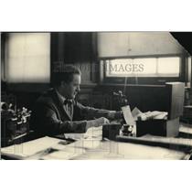 1922 Press Photo Arthur Alexander musical director at Univ of Rochester NY