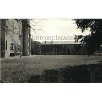 1921 Press Photo Antioch College campus at Yellow Springs Ohio