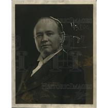 1921 Press Photo Carl D. Thompson, Secretary Public Ownership League