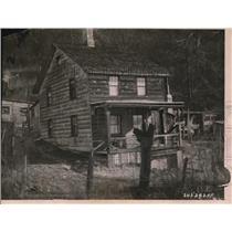 1921 Press Photo Elizabeth Martin's home in Sparta New York