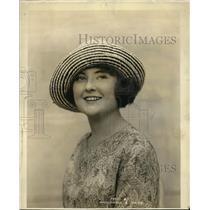 1923 Press Photo Frances Thayer As Miss Atlanta in Atlantic City