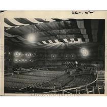 1924 Press Photo View of Interior of Madison Square Garden