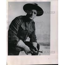 1950 Press Photo Actor G M Anderson Bronco Billy