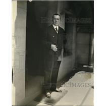 1925 Press Photo L. Gurgel de Amaral at Brazilian Embassy in National Capital