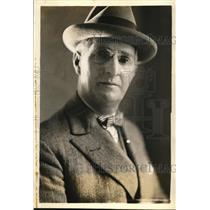 1927 Press Photo Captain Frederico Villar Brazilian naval attache in DC