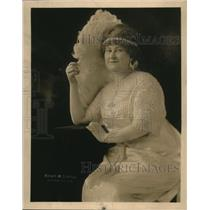 1919 Press Photo Mrs Charles H Anthony in a jeweled outfit