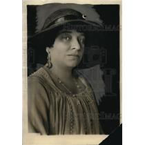 1924 Press Photo Mrs Riano wife of Spanish Ambassador to the US