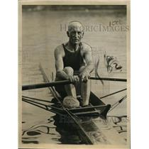 1922 Press Photo James Reilly, 78, at the Golden Jubilee Regatta