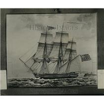 1920 Press Photo of 1819 Painting of the Erin Ship by French Artist Montardier