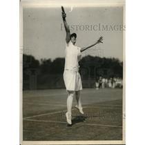 1920 Press Photo Helen Willis at Seabright tennis tournament - nes21327