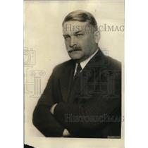 1922 Press Photo Dr. S.W. Stratton Director of the Bureau of Standards