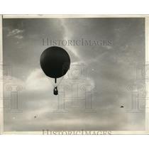 1930 Press Photo Lt F reichelderfer US Navy in National Balloon race