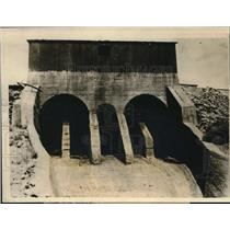 1924 Press Photo Owens River Valley Men Seize Los Angeles Aqueduct