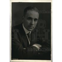 1919 Press Photo Louis B. Wehle, General Counsel for the War Finance Corporation