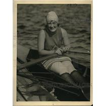 1922 Press Photo Cherry Grevee, Niftiest Sculler at Harvard Girls Summer School