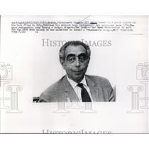 1929 Press Photo Premier Ali Amini Resigned His Cabinet