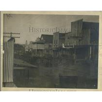 1921 Press Photo Dillard The Pioneer Oil Town of Jake Harrison and Clara Smith