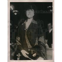 1920 Press Photo Mrs Edith Rockerfeller at Loop Hotel in Chicago