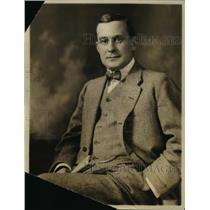 1919 Press Photo Ward B. Jackson, Lumber Dealer
