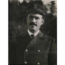 1913 Press Photo Capt. Alfred Rimer