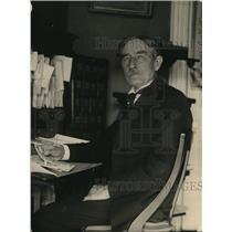 1922 Press Photo Dr. Wilbur F. Crefts, International Reform Bureau