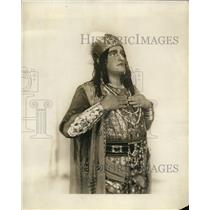 1926 Press Photo Aroldo Lind as Rhadames in Aida