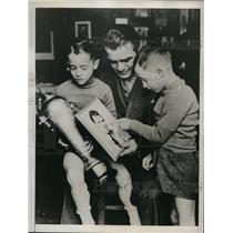 1938 Press Photo Severio Turiello, world ranking walterweight,