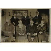 1918 Press Photo British Educational mission to US Sir Henry Jones