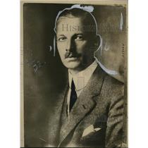 1919 Press Photo Privy Counceller Dr Cuno of Hamburg American Line