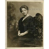 1919 Press Photo Mrs Glen LSwiggett exec sec womens auxillary PAn Am Congress