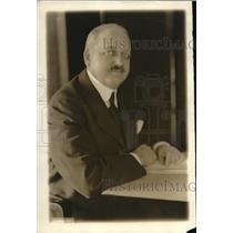 1919 Press Photo George D Oglen chair of Exports Control committee PA RR