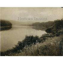 1919 Press Photo Susquehana River along route of Black Diamond