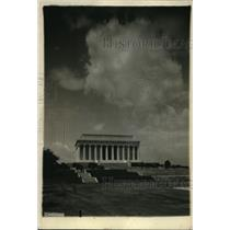 1922 Press Photo Lincoln Memorial in Washington DC - nex17633