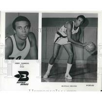 1975 Press Photo Jerry Chambers Small Forward Buffalo Braves NBA Basketball