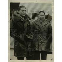 1930 Photo Bolivian Aviators Lucio Luizaga and Capt. Horacio Vasquez